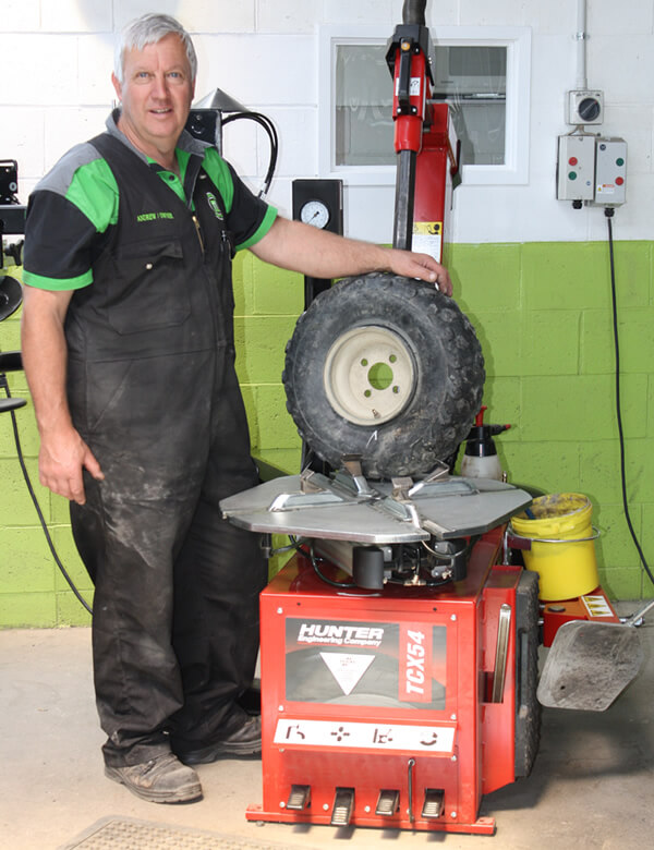 Andrew Morton Operates Independent Tyre Services Marlborough Ltd In Blenheim