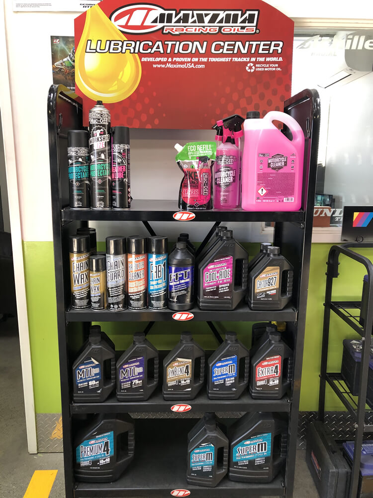 Maxima Racing Oils Are Sold By Independent Tyre Specialists Marlborough Ltd In Blenheim NZ